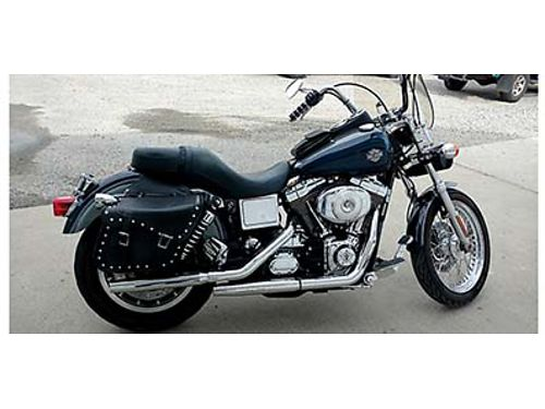 2001 HARLEY Dyna low rider Dark blue with grey trim 20000 miles Must see 5200 firm 509-699-9