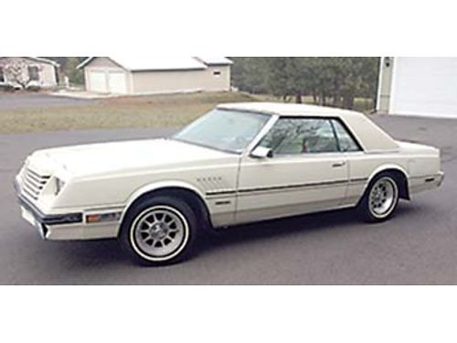 1980 DODGE Mirada Luxury Coupe not a convertible most options56k miles 318 V AC converted to