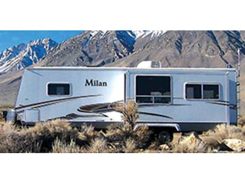 2011 MILAN 27 RLS spacious bright living area private Q-bed  large bath AC DVD TV 2 chairs
