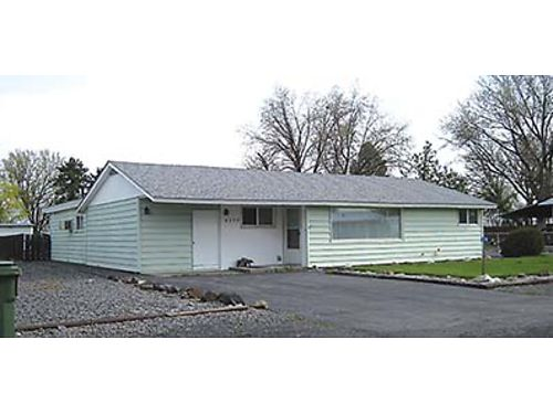 8298 TERMINAL STREET NE Affordable home on large lot with shop in Moses Lake 1787 sq ft Fenced ba