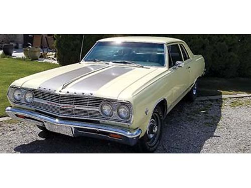 1965 CHEVELLE 350 5 speed cam lifters headers asking 20000 OBO cash offers only please 509-