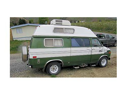 1975 GMC CAMPER Has nearly new motor under GF on it See at 820 Circle Street Wenatchee Have many r
