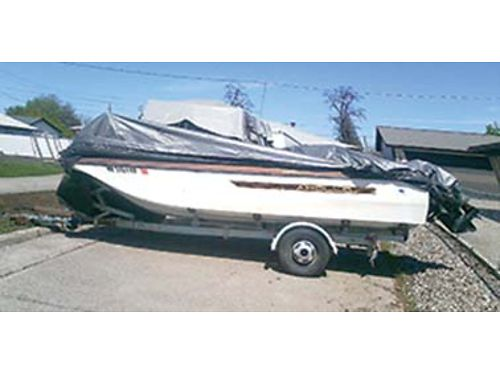 1978 APOLLO RUNABOUT with E-Z loader trailer 15ft  4 cyl inboard needs TLC 500 OBO or trade