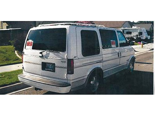 1995 ASTRO Biarwood Van 43 V6 automatic special edition- Fully loaded New tires 7 passenger h