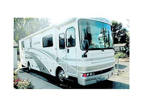 2003 EXPEDITION 34 Diesel Pusher Class A motorhome on Freightliner chasis 2 slide-outs Exhaust b
