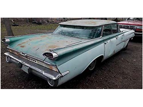 1959 OLDSMOBILE Dynamic 88 4dr flat top all stock and original all parts to
