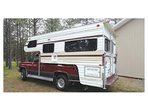 1980 LANCE Camper Loaded clean very nice Interior in excellent condition stored indoors Custom