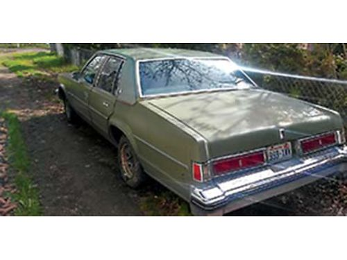 1977 OLDS Delta 88 240K on body Family owned since new daily driver Rebuilt Factory Chevy engin
