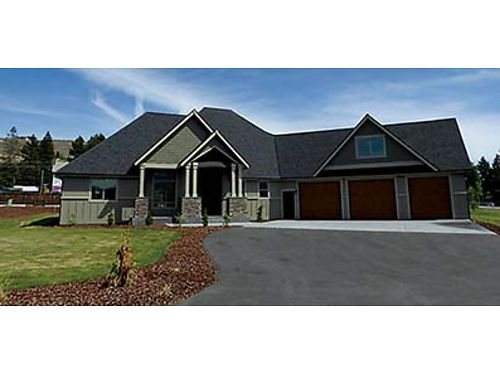 IMPRESSIVE HOME This 3 bedroom East Wenatchee rambler on 64 acre features formal dining and wine t