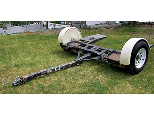 PRO TOW DOLLY straps lights and spare for midsize or smaller cars 900 firm Call 509-670-1524