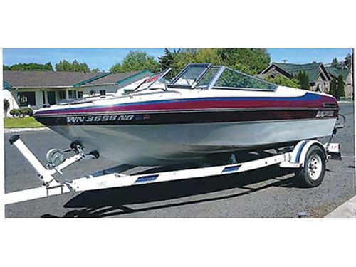 16FT BLUEWATER Mercury IO Lots of extras Very nice and clean 5000 OBO Soap Lake 425-559-8548