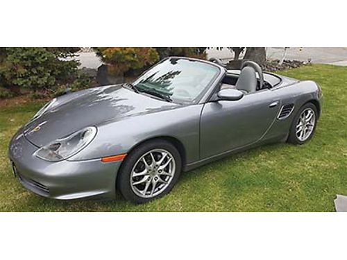 2004 PORSCHE BOXSTER CONVERTIBLE Only 53K Miles Great shape Super fun to drive New tires all aroun