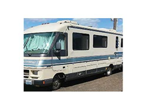 1990 FLEETWOOD Southwind 33 12 68k miles Class A sleeps 6 2 roof AC hyd level system 4000