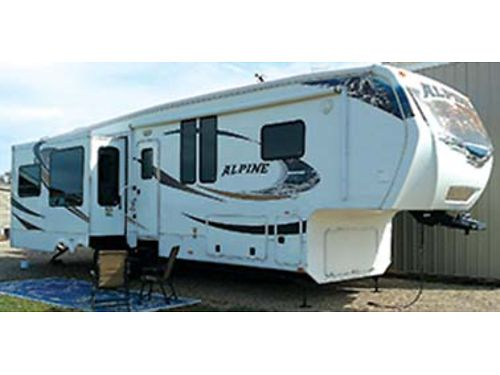 2011 3450 RL Keystone Alpine top of the line new tires washerdryer loads of extras 32000 OBO