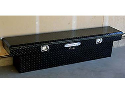 DELTA PRO Truck tool box for full size truck Like new 70 wide 12 long 16 deep Black Diamond