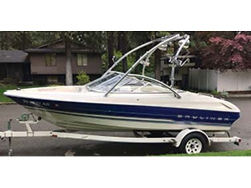 1994 BAYLINER CAPRI 1850 LS 43L Merc V6 IO interior in great condition always winterized and st