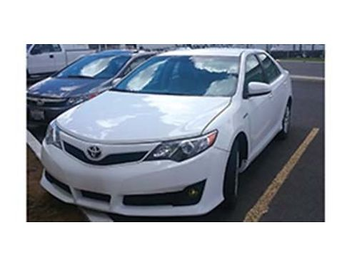 2013 TOYOTA CAMRY LE 35000 miles CD Hybrid Michelin tire cruise PL AC PM low miles keyl
