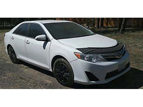 2013 TOYOTA Camry LE 56k miles cd good tires cruise AC low miles good MPG 9500 OBO 509-368