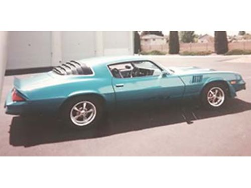 1979 Z28 38700 on rebuilt in 1998 updated air auto PS PB 3 clear coats of paint done in 1999