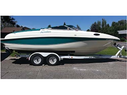 SUMMERS here 1996 Rinker 232 Captiva cuddy cabin Very well maintained  meticulously cared for 7