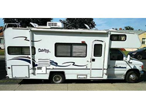 2002 COACHMAN Catalina Sport 24 33k miles V10 engine slide out wcanopy generator on board A
