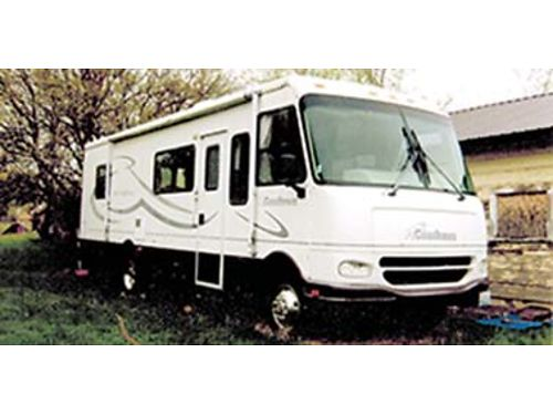 2001 COACHMAN 32 new tires low mileage new batteries full refrigerator AC full cover Onan g