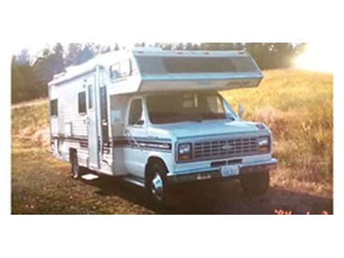 1985 FORD Arrow under 57k miles new front tires Gene AC tow package sleeps 5 lots of power