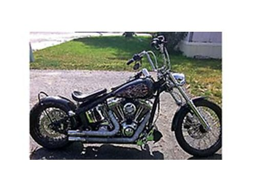 2007 CUSTOM HARLEY Davidson low miles want a custom softail this is the one this is a very powerf