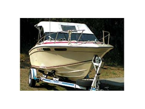 21 CUDDY Cabin w185hp 99hp Yamaha low hr long shaft elect start remote controls full canva