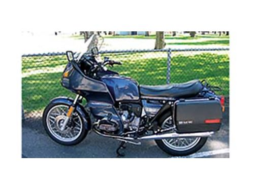 1984 BMW motorcycle R80RT 39k mi excellent cond low mileage tires and very well maintained never d