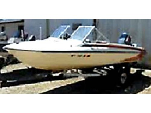 1975 GLASTRON 15 boat Johnson 50hp motor with trailer needs lots of TLC will make somebody a gr