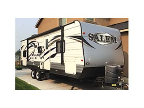2015 FOREST River Salem 27Dbud sleeps 8 1 silde out 30 long excellent condition 16900 leave a