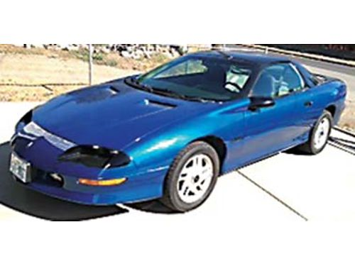 1994 Z-28 Camaro 111K miles all highway TPI 350 6 spd manual PW AC Pioneer stereo CD player