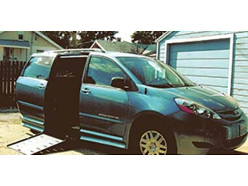 2009 TOYOTA SIENNA handicap accessible 79k miles no smoking or pets clean inside good tires ru