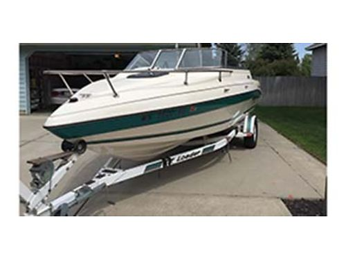 1995 20 SEASWIRL Cuddy Cabin boat 302 fuel injection V-8 1 owner many extras very low hours 7