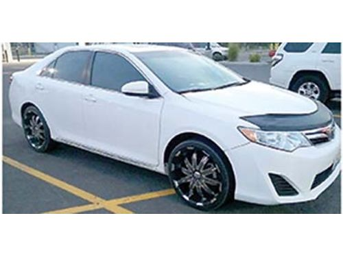 2013 TOYOTA Camry LE 56k miles cd good tires cruise AC low miles good MPG 8900 stock wit