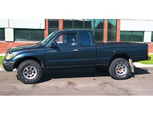 1998 TOYOTA TACOMA 4x4 manual Kenwood remote 34 V6 new clutch system timing belt 256 k mile