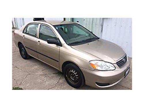 2004 TOYOTA Corolla CE manual transmission new clutch front wheel drive 4 cy