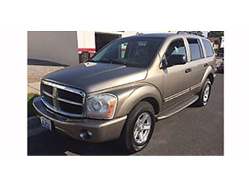 2004 DODGE Durango Limited 4x4 tow package all leather 3rd row seating PW P
