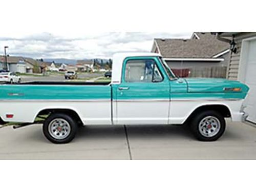 1968 FORD pickup short bed new 360 engine 3 spd on the column new seat  bed