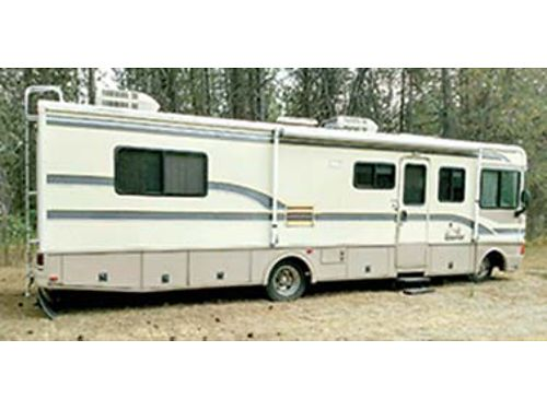 1997 FLEETWOOD Bounder 32 has everything excellent condition 52k MIles 14900 Call Joanie  5