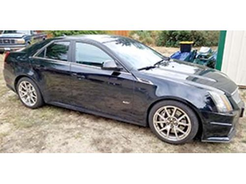 2010 CADILLAC CTS V-spec 62L super charged V-8 556 HP Auto power everythin