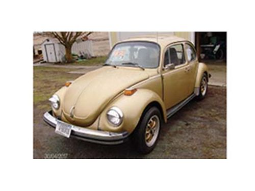 1974 VW Super Beetle this car is very nice manual transmission everything has