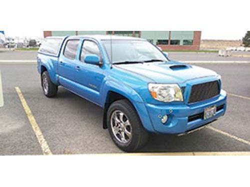 2008 TOYOTA TACOMA TRD Sport pkg long bed one owner low miles 51k auto star