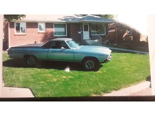 1969 EL CAMINO PS PB 350 show car best offer over 18000 ask for Ray 509-3