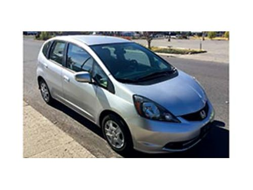 2013 HONDA Fit clean title one owner with all service history automatic new