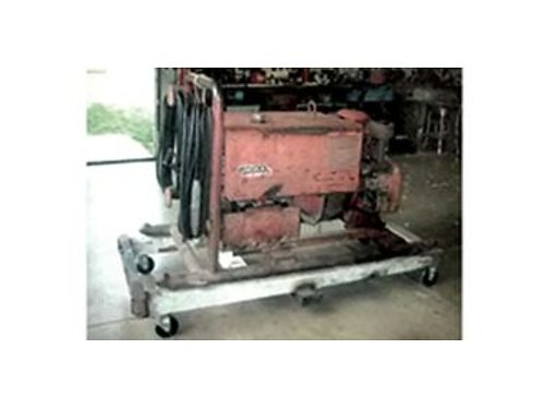 LINCOLN ARC Welder 225DC leather hood rod grinder 1000 OBO Call 509-385-7145 or 509-922-9880