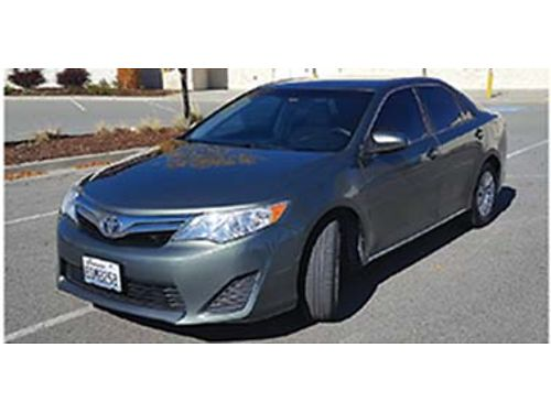2012 TOYOTA Camry LE 25L reliable durable gentle  very comfortable  59k m