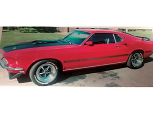 1969 FORD Mustang Mach 1 428 CJ 4 speed matching numbers no rust ever nut