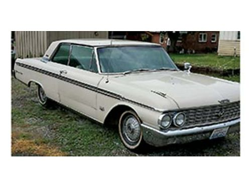 1962 FORD GALAXIE 390 V8 Air Auto Power Seats  Windows 54200 Miles 2nd Owner Orginal Licens